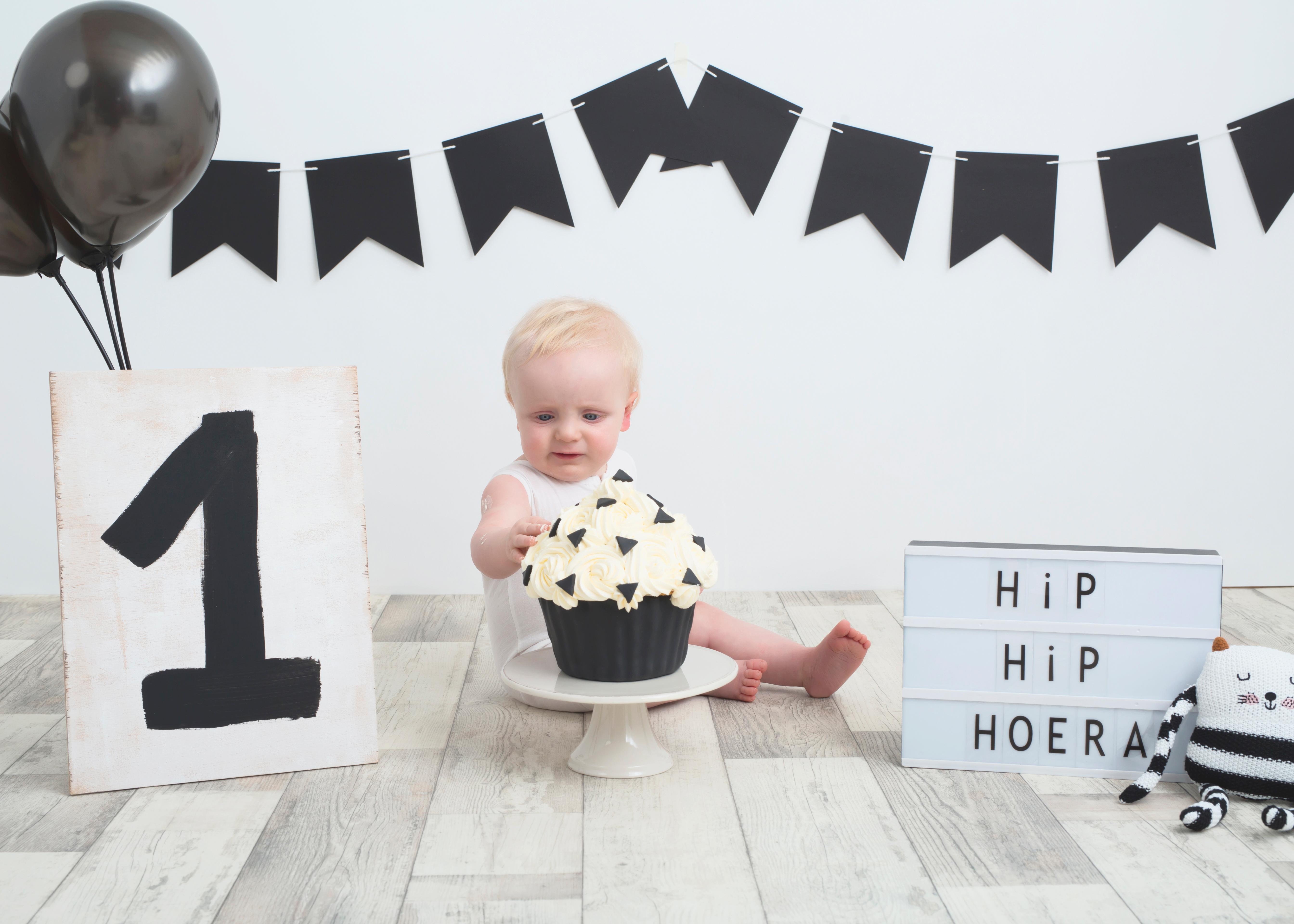 Welp Leuk idee voor de eerste verjaardag van je baby : de cake smash TQ-91